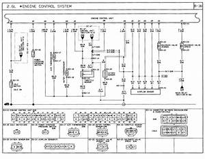 1991 Mazda B2600i Wiring Diagram   Engine