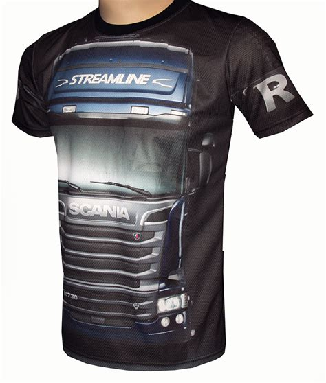 t shirt the scania scania r730 t shirt with logo and all printed picture
