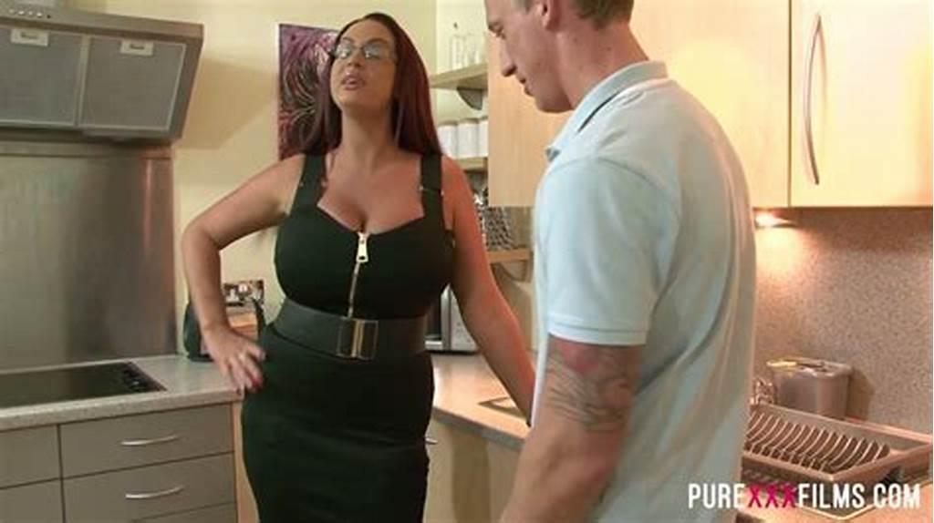 #Big #Ass #Stepmom #Emma #Butt #Fucks #Her #Lucky #Stepson #In #A #Kitchen