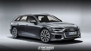 Audi A6 Avant Ambiente : 2019 audi a6 avant rendering looks ready for s6 treatment autoevolution ~ Melissatoandfro.com Idées de Décoration