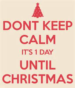 1 Day until Christmas