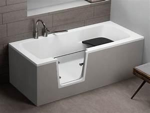 Badewannen Mit Tür : rechteckige badewanne mit t r seniorenbadewanne 170x75x62 cm vovo ~ Orissabook.com Haus und Dekorationen