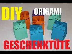 Basteln Mit Papiertüten : diy origami papiert ten basteln geschenkt ten cute ~ A.2002-acura-tl-radio.info Haus und Dekorationen