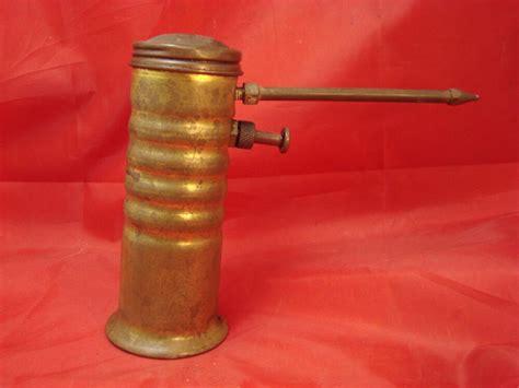 Antique Original Brass Eagle Oil Can Oiler