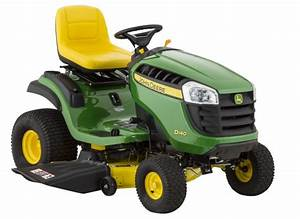 John Deere D140-48 Riding Lawn Mower  U0026 Tractor
