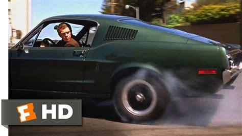bullitt  san francisco car chase scene