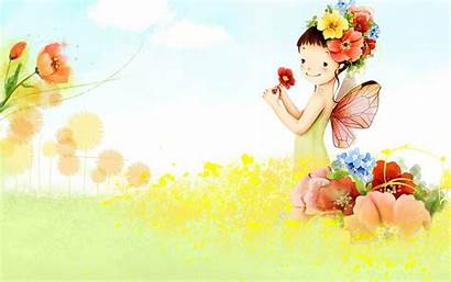 Cartoon Fairy Wallpapers Res Cartoons Colorful Lovely