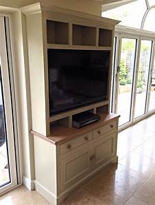 Hand, Painted, Dresser, Style, Unit, With, Space, For, The, Telly