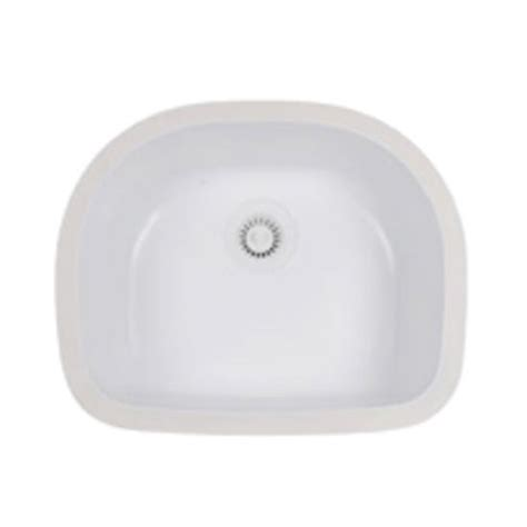 karran undermount bathroom sinks kitchen sink benton d shaped single bowl mount