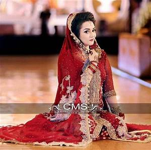 Contrast Bridal Lehenga Designs Beautiful Bridal Barat Dresses Designs Collection 2016