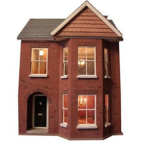 decorated bay view dolls house  scale bdhd