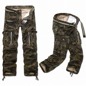 Luxury Mens Boys Military Army Combat Camo Trousers Work ...