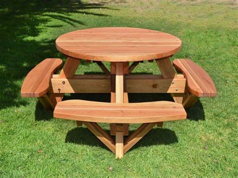cool outdoor tables cool picnic table the use and varieties homesfeed