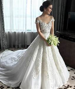 kaye abad wore a gorgeous francis libiran gown to her With wedding dress philippines