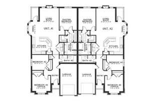Genius Home Plans Duplex by Single Story Duplex Floor Plans Duplex Ideas