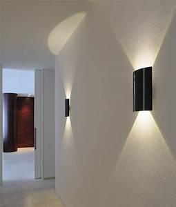 Up And Down Lights : led gloss up down wall light ~ Whattoseeinmadrid.com Haus und Dekorationen