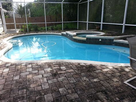 Cleaning Pool Deck With by Pool Deck Enclosure Cleaning 3lm Roof Cleaning Orlando