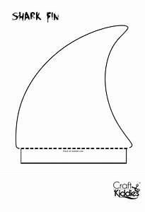 fun diy paper shark hat shark hat diy paper and shark With shark hat craft template