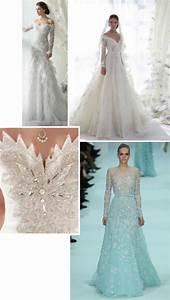 91 snowflake wedding dress lace mid back chapel train With snowflake wedding dress