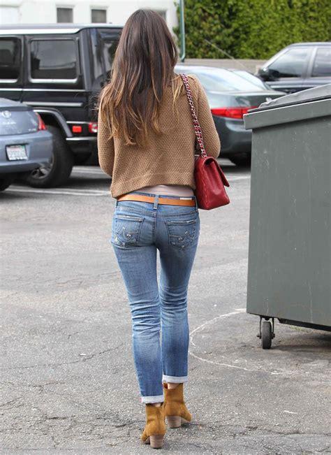 Jordana Brewster Jeans Ass Bottom Brunette Handbag