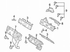Ford Taurus Exhaust Manifold Heat Shield  Right  Upper
