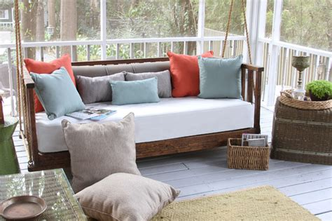 Porch Swing Bed Cushions by Porch Daybed Swing Cushions And Pillows Traditional