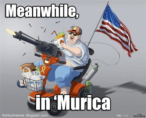 Murica Meme - patriotism under cerulean skies