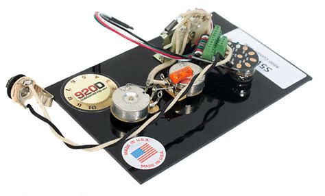 Stratocaster 5 Way Wiring Harnes by 920d Cs Strat Stratocaster 5 Way Wiring Harness Pre