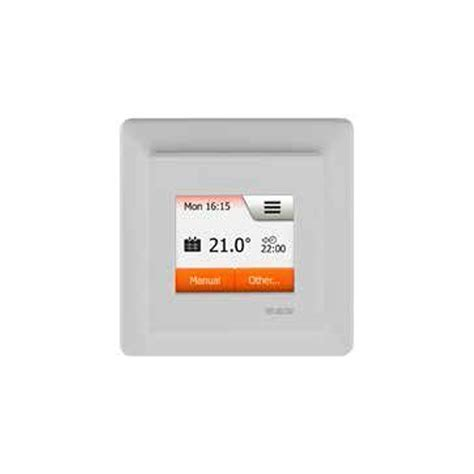 Schluter Heated Floor Thermostat by Schluter Ditra Heat E R Touch Screen Digital Thermostat