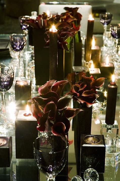 creative halloween wedding centerpiece ideas  autumn