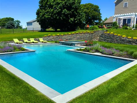 custom pool spa patio masonry in cutchogue patricks