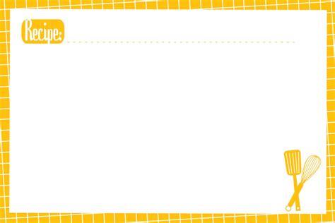 recipe card template 13 recipe card templates excel pdf formats