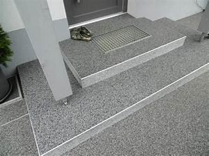 Boden Für Terrasse : natursteinteppich steinteppich terrassenbelag balkonabdichtung balkonbeschichtung kunstharzboden ~ Orissabook.com Haus und Dekorationen