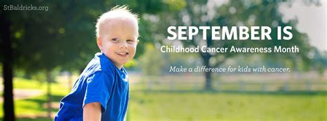 National Childhood Cancer Awareness Month   The Houston Table
