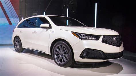 2019 Acura Mdx Aspec  Revealed At The New York Auto Show