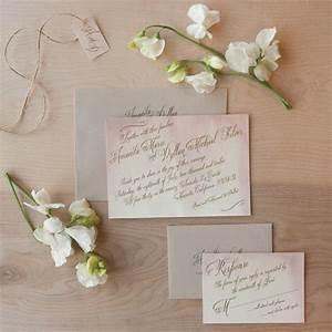watercolor wedding invitations handmade weddings by etsy With watercolor wedding invitations sydney