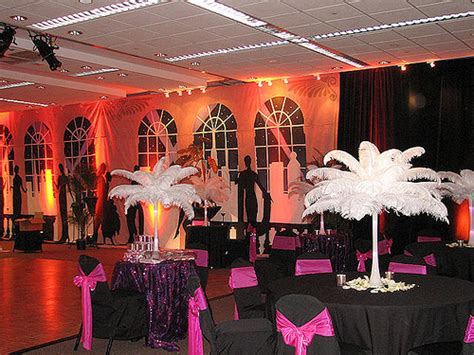 A Jazz Theme Wedding Reception  The Wedding Reception Was