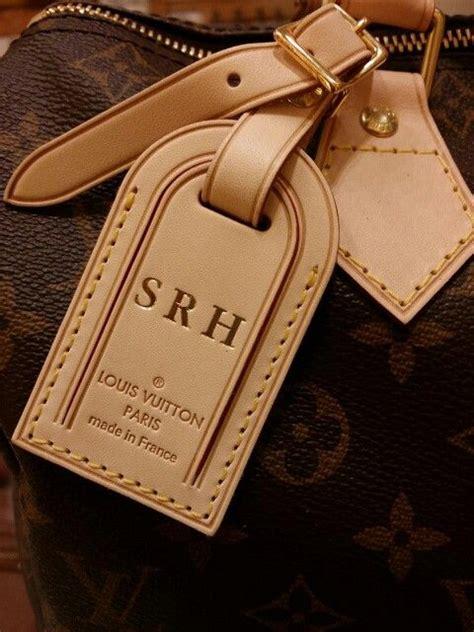 monogram louis vuitton luggage tag  speedy  handbag bliss pinterest louis vuitton