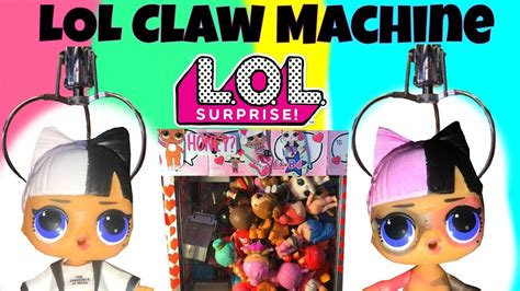 lol surprise dolls claw machine fake lql lil sisters