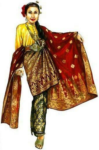 princess  perak costume traditional outfits malaysian
