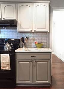 brittanys fabulous rancher reno the big reveal less With kitchen colors with white cabinets with iron stickers