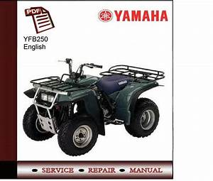 Yamaha Yfb250 Service Manual