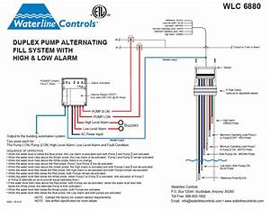 Wlc-6880  Low Alarm Dual Pump Alternating Controller