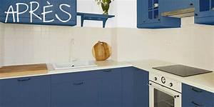 Recouvrir Un Plan De Travail : r nov cuisine peinture meubles de cuisine et multi ~ Dailycaller-alerts.com Idées de Décoration