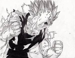Majin Vegeta by prabhatjanamanchi on DeviantArt