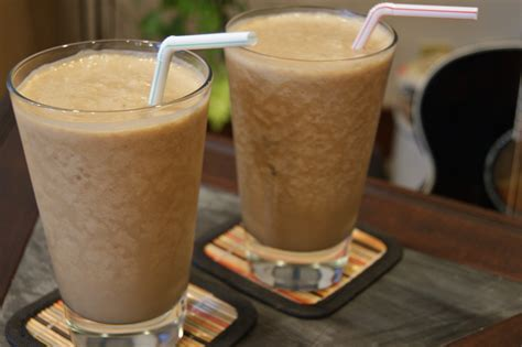 healthy rv recipe coffee peanut butter smoothie