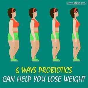 Probiotics Can Help You Lose Weight