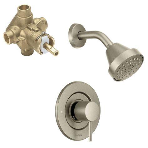 moen ashville single handle  spray shower faucet