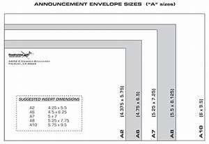 Correspondence and announcement envelope sizes dimensions for Letter size envelope measurements