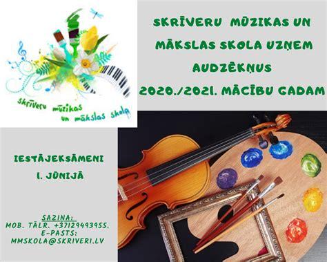 Uzņemšana 2020./2021. mācību gadam - Skrīveru Mūzikas un ...
